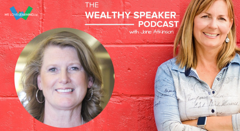The Wealthy Speaker Podcast with Jane Atkinson